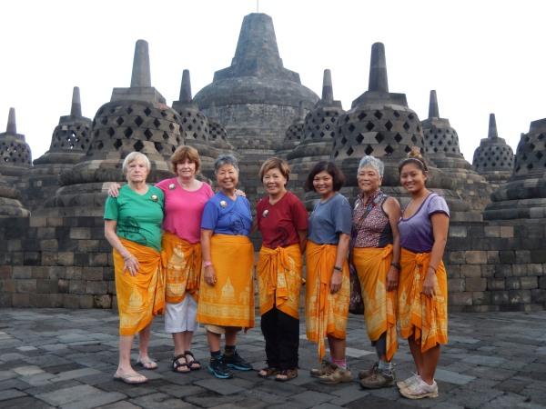 UNESCO World Heritage site, Borobudur, Java