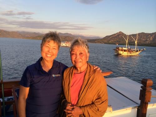 With Marie on Tarata