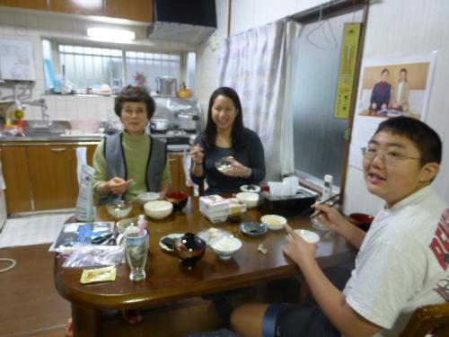 Grandma Ibaramoto made delicious breakfasts every morning