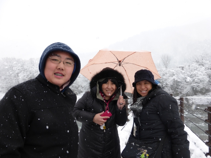 Snow at Shirakawago