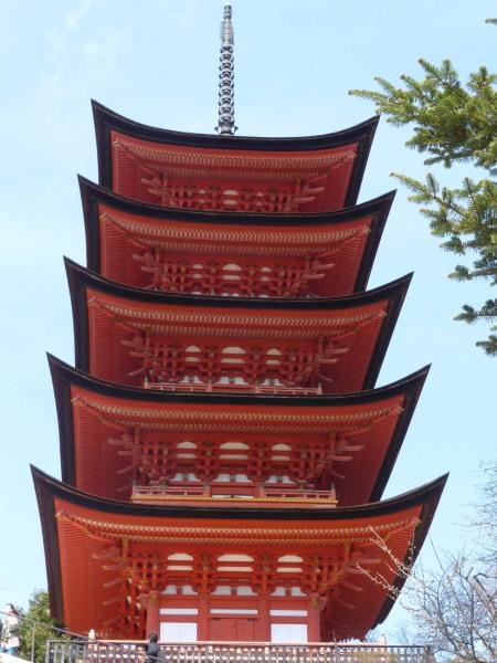 5-story pagoda at Miyajima