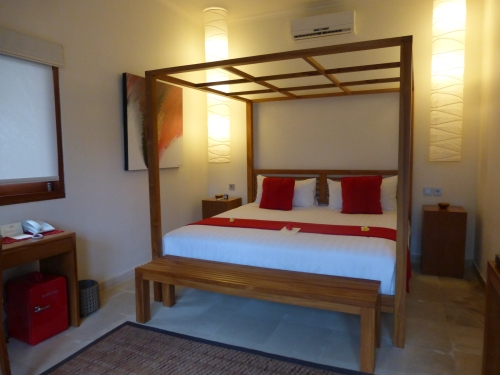 Our room at Rouge Bali villas in Ubud