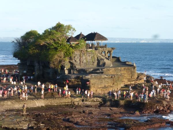 Pura Tanah Lot, temple in the ocean