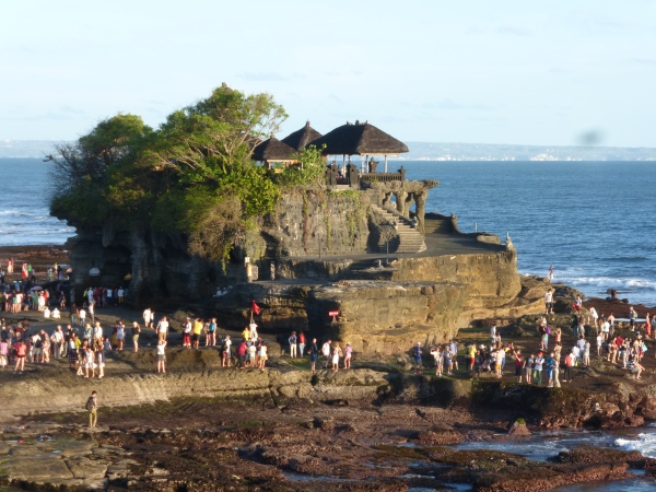 Pura Tanah Lot, temple in the ocean