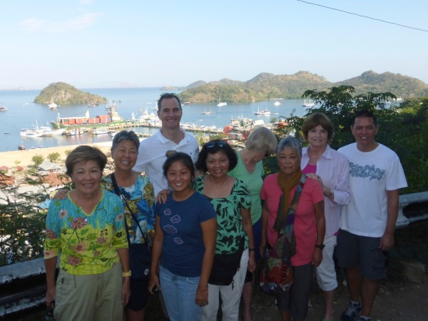 Labuhan Baho in Flores Islands