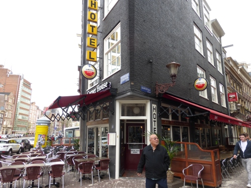 Corner House hotel in Amsterdam