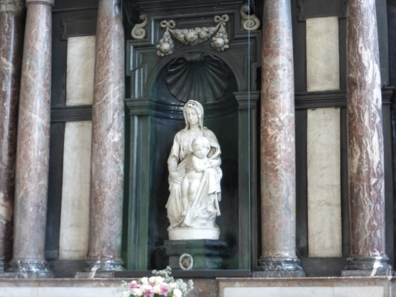 Madonna by Michelangelo