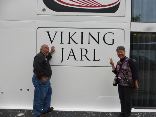 Our ship, the Viking Jarl